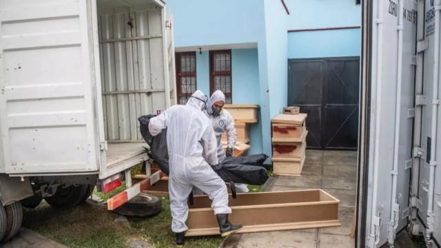 Muertos en Perú por coronavirus