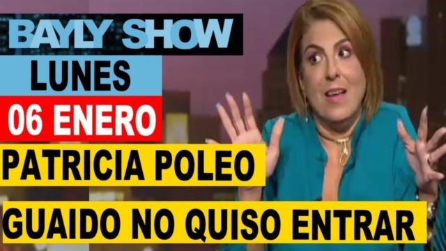 Patricia Poleo en el show Jaime Bayly
