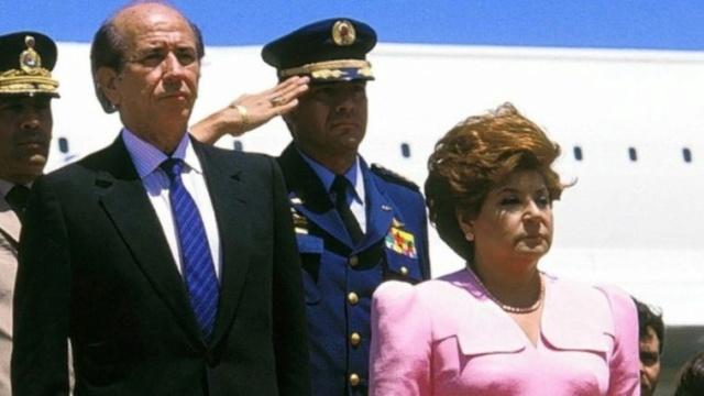 Carlos Ándres Pérez y Blanca Rodríguez de Pérez
