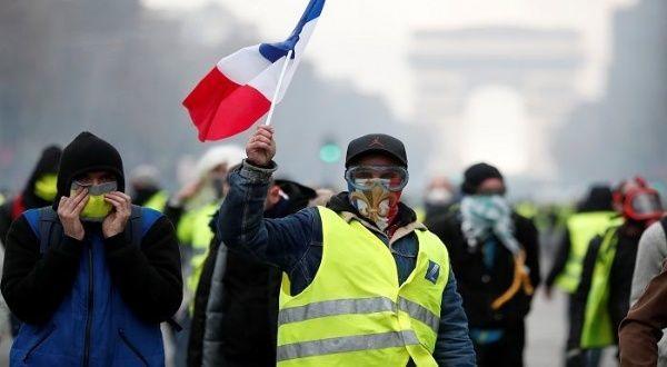 Chalecos Amarillos en Francia