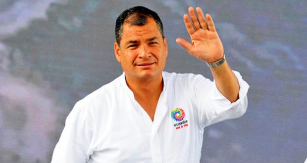 Tras visita de Mike Pence a Ecuador jueza ordena prisión preventiva contra expresidente Correa Rafael10