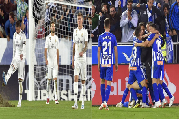 Real Madrid, Alavés