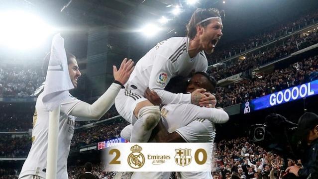 Real Madrid se lleva El Clásico