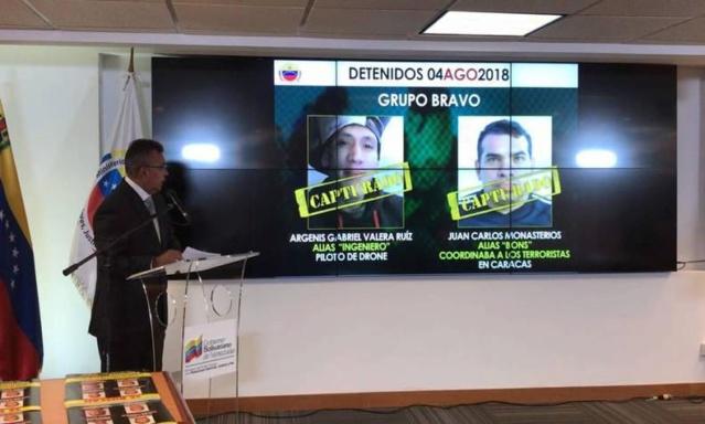 23 personas están implicadas en el magnicidio frustrado contra el Presidente Maduro Revero10