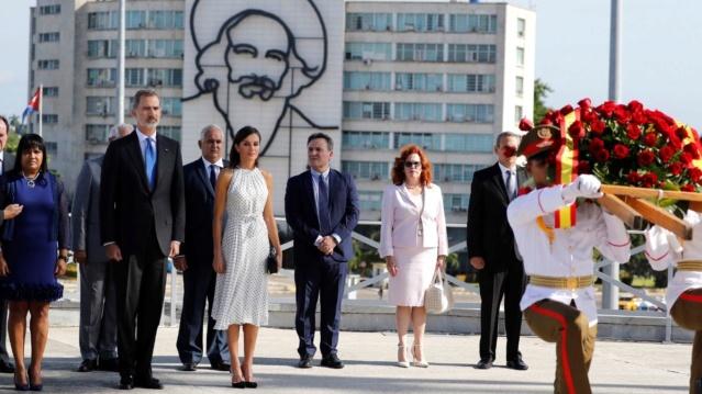 Reyes de España realizan primera visita de Estado a Cuba
