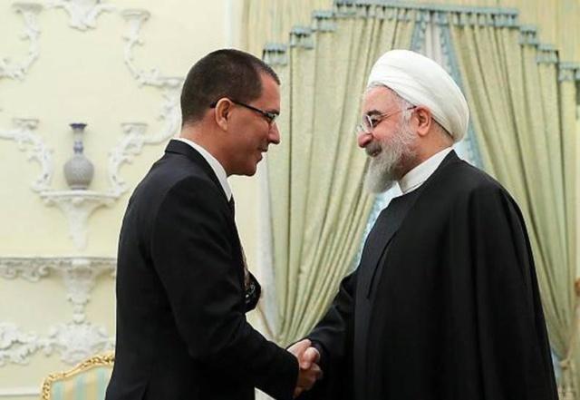 Jorge Arreaza, Hassan Rouhani