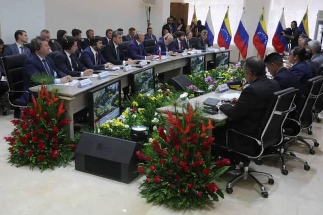 Comisión Intergubernamental de Alto Nivel Rusia-Venezuela afianza intercambio comercial bilateral