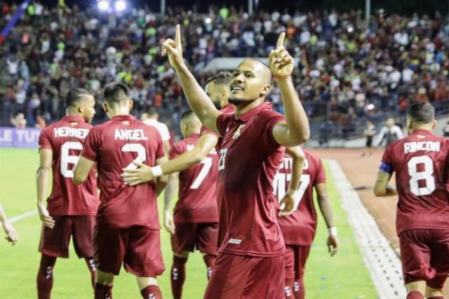 Vinotinto golea 4-1 a la Bolivia