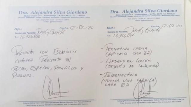 Juan Guaidó tiene sarna