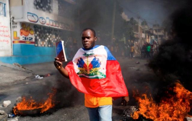 Manifestaciones en Haití contra el presidente Jovenel Moïse