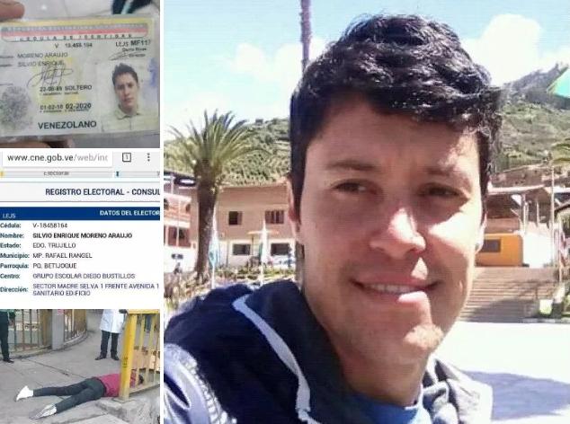 Joven contador trujillano muere en una calle de Perú Scree221