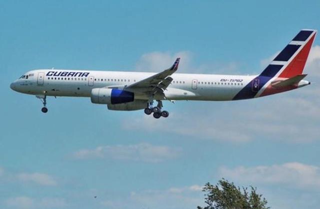 Suspenden vuelos de aerolínea cubana con dirección a Venezuela y México