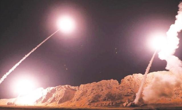 Irán en defensa ataca con misiles dos bases aéreas de EEUU en Irak