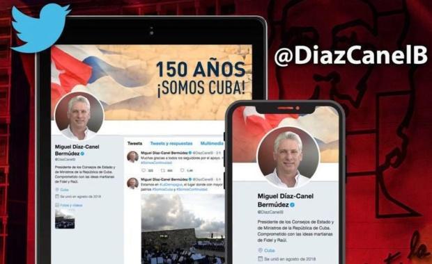 Twitter Díaz Canel