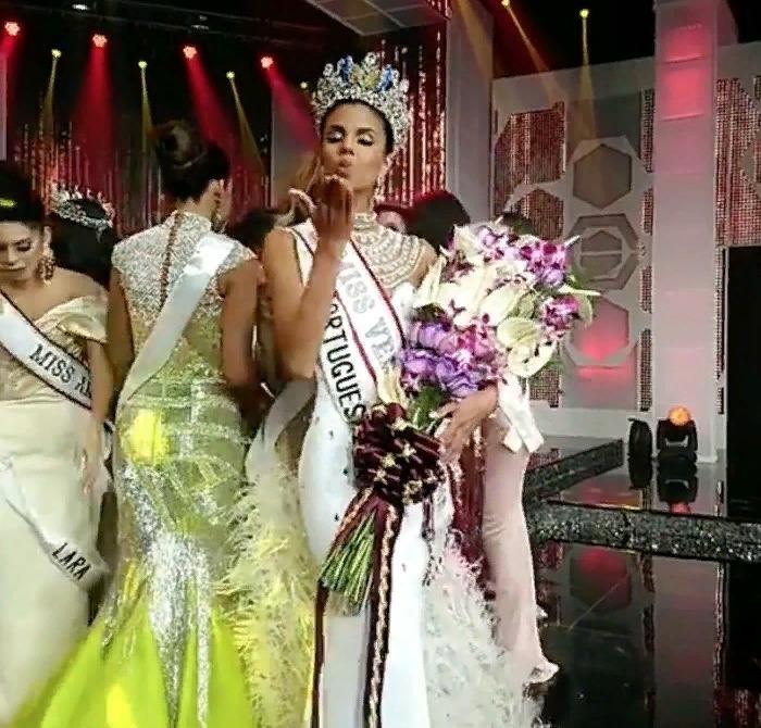 Isabella Rodríguez es coronada como la nueva Miss Venezuela 2018 Screen52