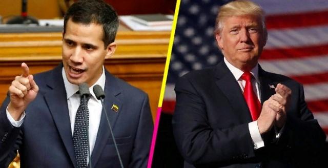 Juan Guaidó impuesto por EEUU