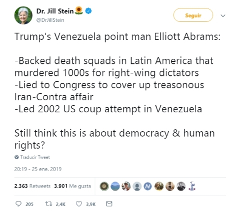 Elliott Abrams, el enviado de EEUU para dirigir la oposición en Venezuela fue el arquitecto del golpe a Chávez Screen94
