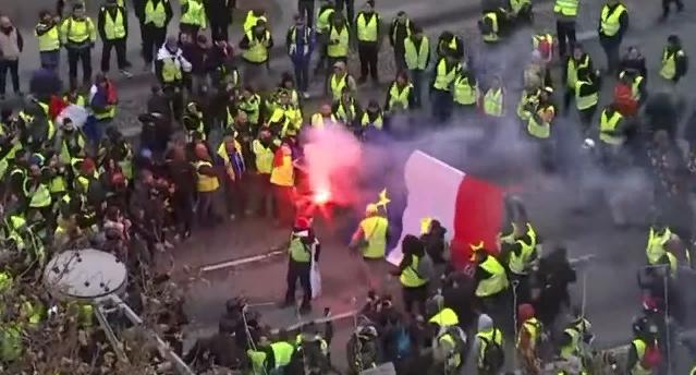 Chalecos amarillos de Francia