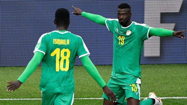 Selección senegalés se impone ante Polonia 2-1 en Rusia 2018 Senega10