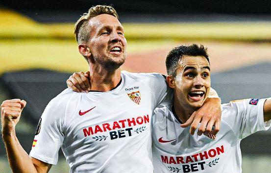 El Sevilla venció al Manchester United