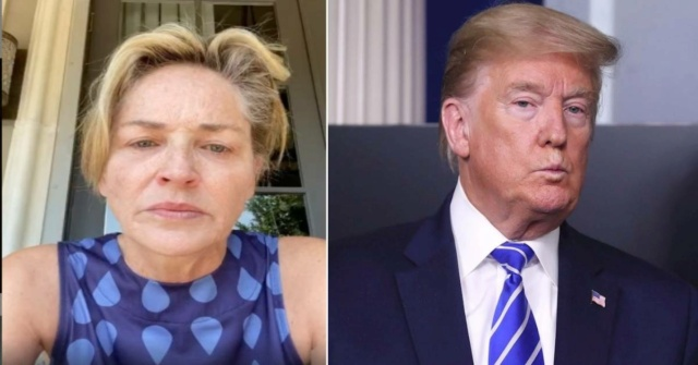 Sharon Stone llama asesino a Trump