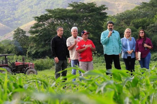 Maduro aprueba 228 mil 439 millones de bolívares para el Plan de Siembra 2019