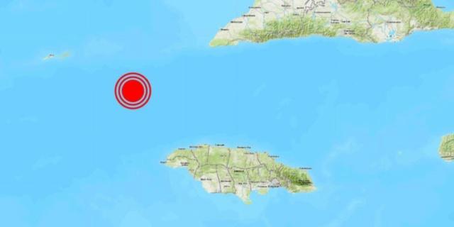 Fuerte temblor de 7.7 se reportó en el mar Caribe