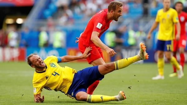 Inglaterra derrota a Suecia y gana el boleto a las semifinales del Mundial Rusia 2018 Suecia10