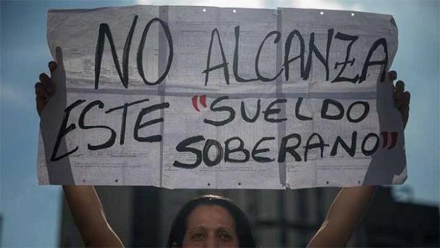 Venezuela con el salario mínimo más bajo del planeta