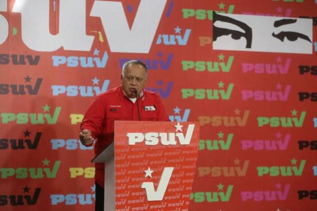 Diosdado Cabello: EEUU es el denominador común injerencista sobre los pueblos Suv41510