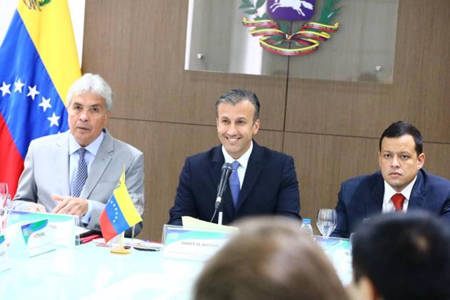 .@TareckPSUV El Aissami es designado ministro de Industrias y Producción Nacional Tareck10