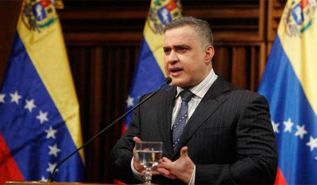 """Fiscal Saab: """"Hay 19 personas vinculadas con el atentado fallido contra el presidente Maduro"""" Tarek-11"""