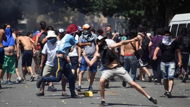 Protestas contra Macri