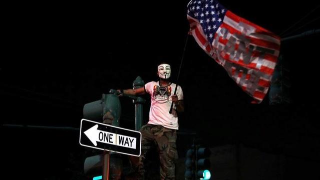 Fuertes protestas en EEUU