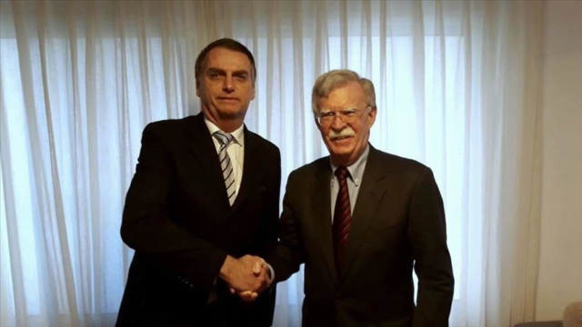 Bolsonaro y Bolton