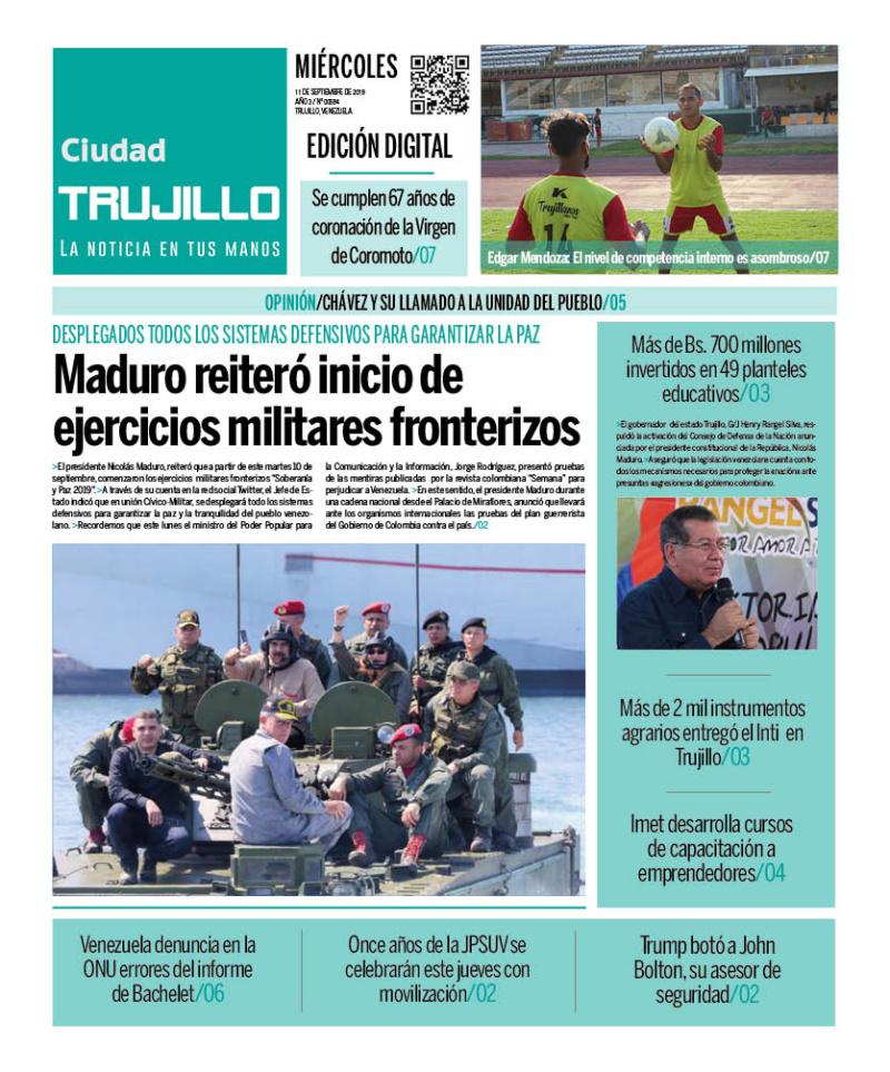 Diario Ciudad Trujillo