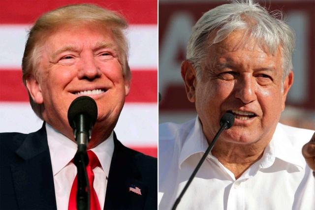 """Trump dice que López Obrador es una """"persona estupenda"""" y augura buena relación con México Trump110"""