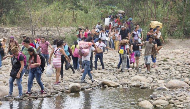 Trochas frontera Venezuela - Colombia