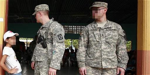 Militares de EEUU en Colombia