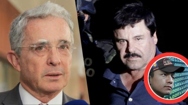 Vinculos de Uribe con El Chapo Guzmán