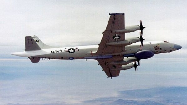 Aeronave espía de EEUU en Venezuela