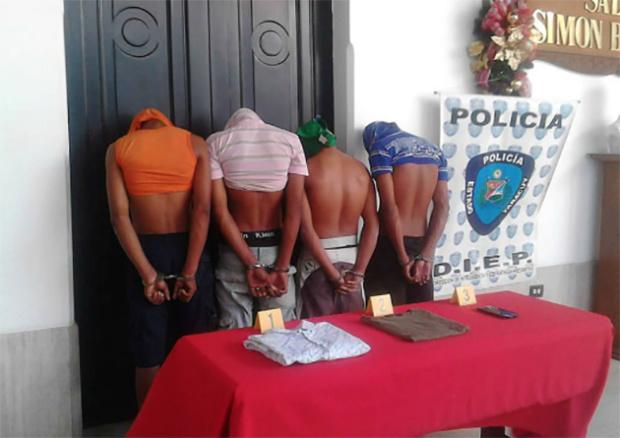 Detenidos caso Valbuena y Castillo