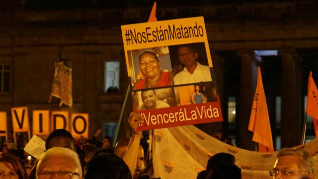 Gobierno colombiano sigue amparando asesinatos de dirigentes sociales
