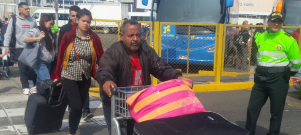 Venezolanos en Perú regresan a Venezuela