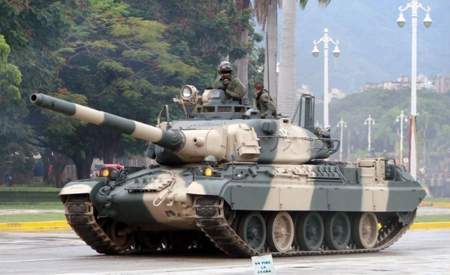 Tanques AMX-30 de Venezuela