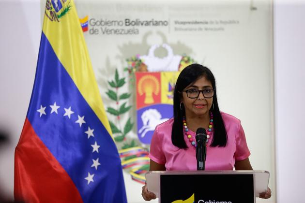 Vicepresidenta Delcy Rodríguez se reunió con gobernadores de oposición Vice-o10