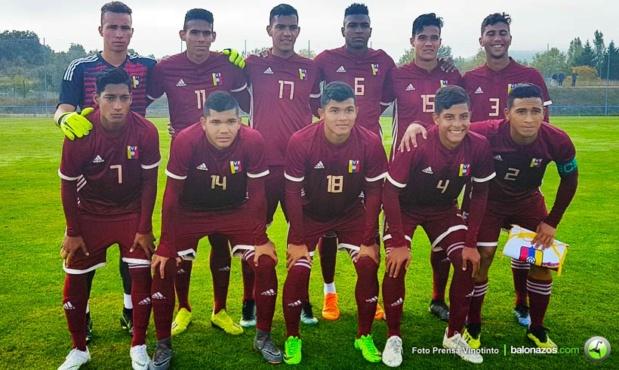 La Vinotinto Sub 20 derrotó 2-0 al equipo de reservas del Deportivo Alavés Vinosu10