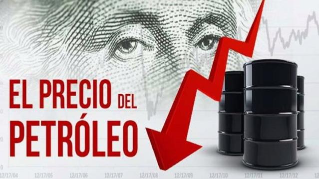 Baja precio del petróleo