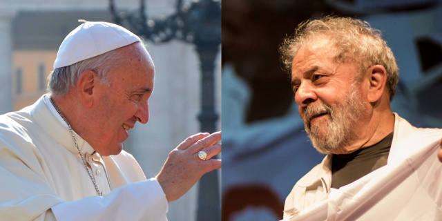 Papa Francisco, Lula Da Silva