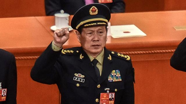Ministro de Defensa chino, Wei Fenghe